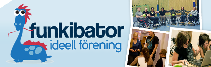 Logotype: Funkibator ideell frening