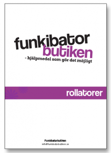 Screenshot p produktblad rollatorer i Funkibatorbutiken